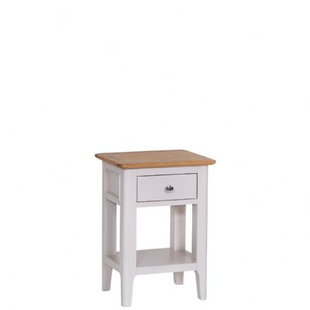 Newhaven Grey Painted Side Table